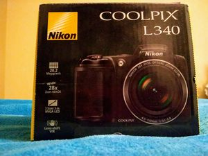 Nikon Coolpix L340 Digital Camera for Sale in Norwalk, CA