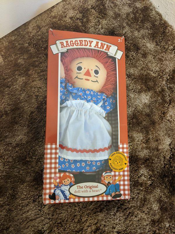Raggedy Ann 100th anniversary doll