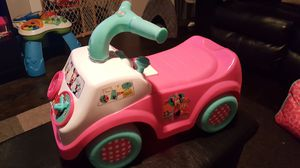 Minnie Mouse musical pushcar for Sale in Chicago, IL