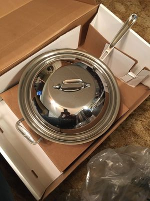 All-clad 12in chefs pan for Sale in Dallas, TX