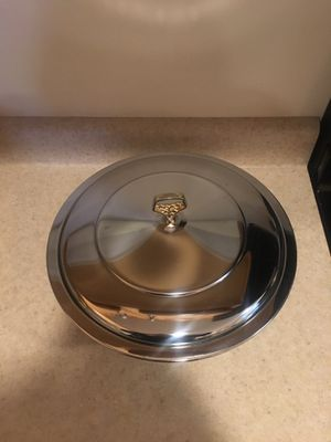 Vintage Kromex deep dish casserole for Sale in Pittsburgh, PA