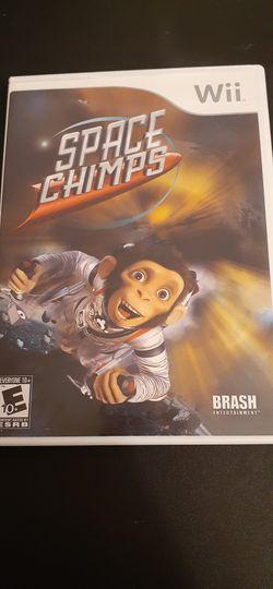 SPACE CHIMPS (Nintendo Wii + Wii U) for Sale in Lewisville,  TX