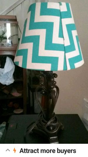 Metal table lamp works for Sale in Winchester, CA