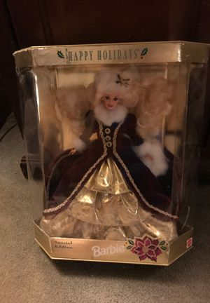 Happy holidays 1996 special edition Barbie for Sale in Denver, CO