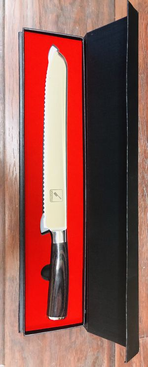 """10"""" Imarku Pro serrated knife - High Carbon Stainless Steel Cake Knife - Brand New In the Box for Sale in Temple City, CA"""