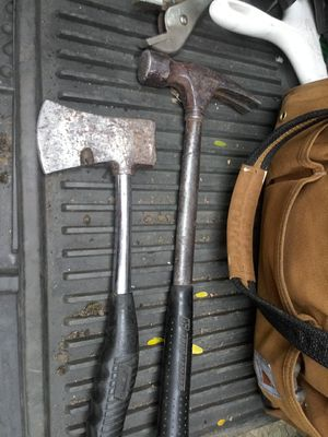Hammer and hatchet for Sale in Portland, OR