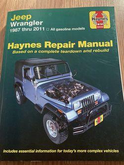 Jeep Repair Book for Sale in Rio Rancho,  NM