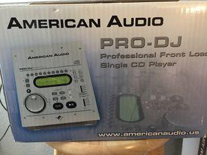 American Audio Pro-DJ Front Load CD Player for Sale in Auburn, WA