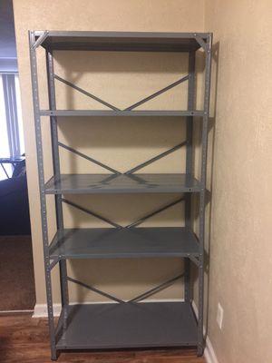 Metal Storage Shelving Unit Heavy Duty 5 Shelf Steel Organizer GRAY 36x72x16 for Sale in Clarksville, TN