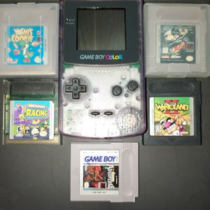 Gameboy Color With 5 Games for Sale in Woodbridge, VA