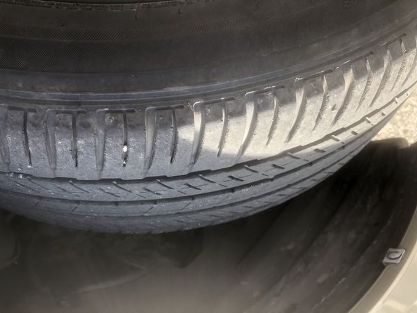 Set 4 tires 215/55/r17 Bridgestone honda toyota nissan mazda ford hyundai kia