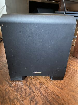 KLIPSCH KSW-50 SUBWOOFER for Sale in Shoreline, WA