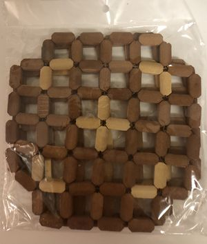 Wooden Trivets for Hot Dishes - Pack of 2 for Sale in Pembroke Pines, FL