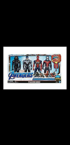 New marvel Avengers Titan Heroes Power FX Set of Four Action Figures for Sale in South Gate, CA