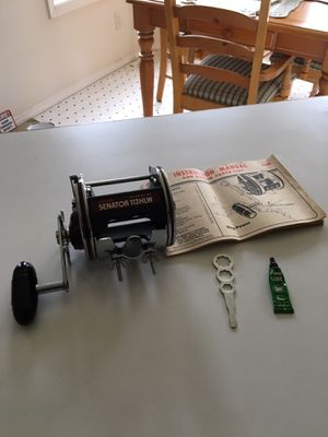 New Old Stock Vintage Penn Senator II 113HLW 4/0 Special Fishing Reel. Circa 1984. for Sale in Hillsboro, OR