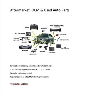 Auto parts used new aftermarket for Sale in Tacoma, WA