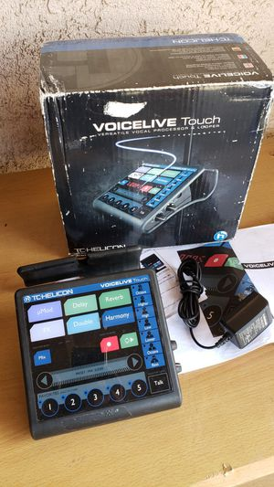 TC Helicon Voicelive Touch Vocal Effects Processor for Sale in Rosemead, CA
