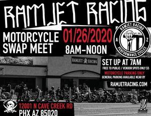 Motorcycle Swapmeet @ Ramjet Racing for Sale in Phoenix, AZ