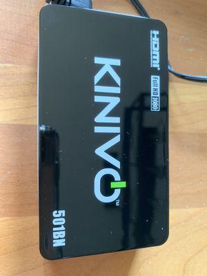 Kinivo 501BN HDMI switcher for Sale in Burke, VA