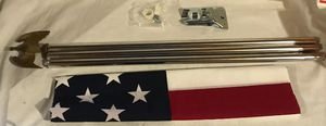 Seasonal Designs 3 ft. x 5 ft. U.S. Flag Kit for Sale for sale  Dublin, OH