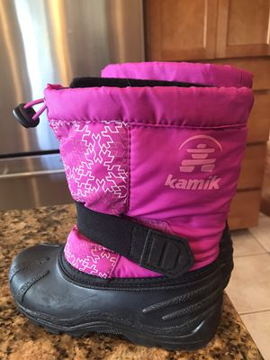Girls Kamik Snow Boots - 11 for Sale in Orting, WA