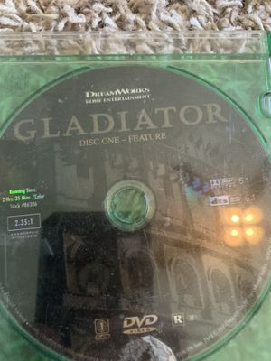 Gladiator on DVD for Sale in Hanford, CA