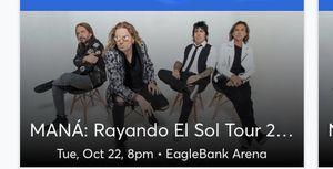 Mana concert ticket for Sale in Alexandria, VA