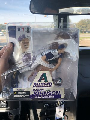 Randy Johnson collectible action figure for Sale in Dallas, TX