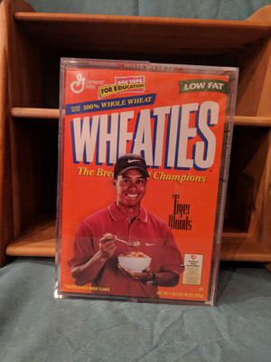 Tiger Woods Framed Wheaties box 1999 for Sale in Kalkaska, MI