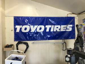 Toyo tire banner for Sale in Houston, TX