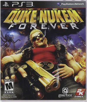 PS3 Duke Nukem Forever, perfect condition with case & manual for Sale in Bradenton, FL