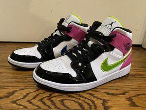 "Nike Air Jordan 1 Mid SE ""Cyber Active Fuchsia"" (CZ9834-100) Men's SZ 10.5 for Sale in Los Angeles, CA"