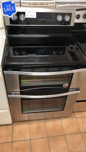 NO CREDIT!! Whirlpool LOWEST PRICES! Electric Stove Oven Double Oven #1568 for Sale in Jessup, MD