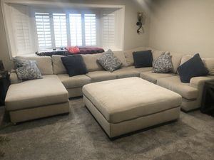 Huge Ashley couch for sale (like new) for Sale in Valley Home, CA