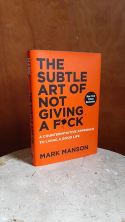 """Book: """"The Subtle Art of Not Giving a F*ck"""" for Sale in East Rochester,  NY"""