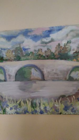 KENT BRIDGE original oil painting for Sale in Richland, WA