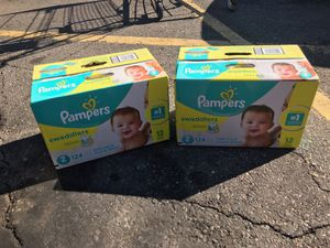 Diapers size 2 Pampers Swaddlers for Sale in Wheat Ridge, CO