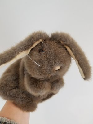 Collectable Bunny Cotton tail rabbit plush hand puppet for Sale, used for sale  Norcross, GA