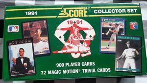 1991 score baseball card set (SEALED) for Sale in Pekin, IL