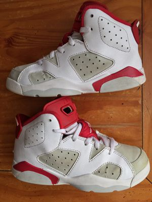 Nike Air Jordan 6 Retro PS 'Alternate' Size 1 Youth White/Gym/Red/Pure/Platinium for Sale in Schaumburg, IL
