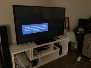 65inch tv Panasonic for Sale in Dallas, TX