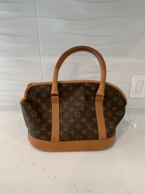 Rare 90s Louis Vuitton Leather Carry Bag for Sale in Miami Beach, FL