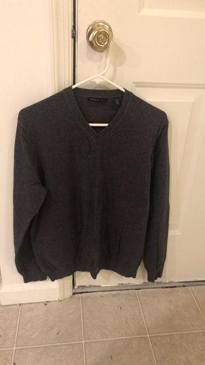 Van Heusen Studio Men's V-Neck Gray Argyle Sweater for Sale in Dover, DE