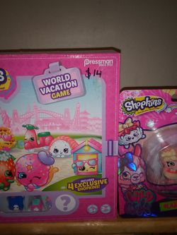 Shopkins Board Games And Toy for Sale in Winton,  CA