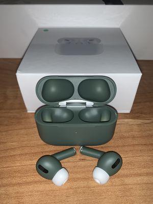 Brand New TWS AirPods Pro, Olive Wireless Earphones (DEEP BASS)🔥Clear loud for Sale in San Fernando, CA