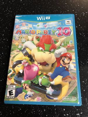 Mario party 10 Wii U non working disc for Sale in San Antonio, TX