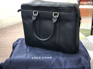 Cole Haan Black Leather Briefcase for Sale in San Francisco, CA