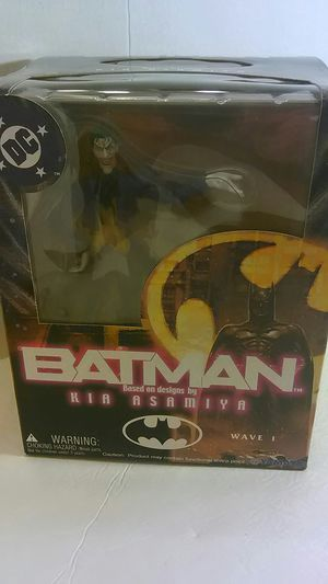 """Batman Based on Design by Kia Asamiya - - """"Joker action Figure"""" (Special Poster inside ) for Sale in North Providence, RI"""