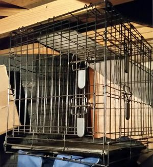 Black Wire Dog Crate for Sale in Normal, IL