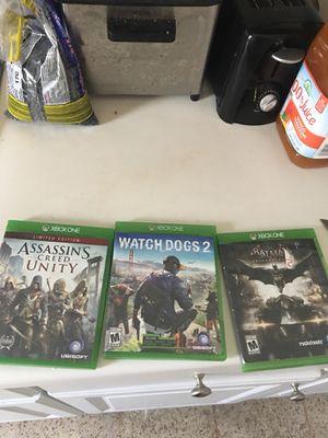 Xbox one games for Sale in North Miami, FL